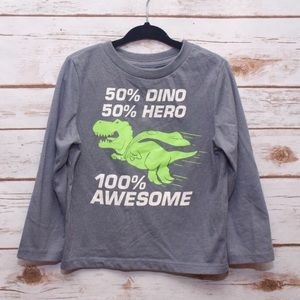 Graphic Long Sleeve Tee for Toddler Boy